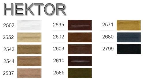 HEKTOR - karta kolorów